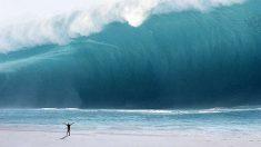 Las olas son cada día más grandes en las costas europeas