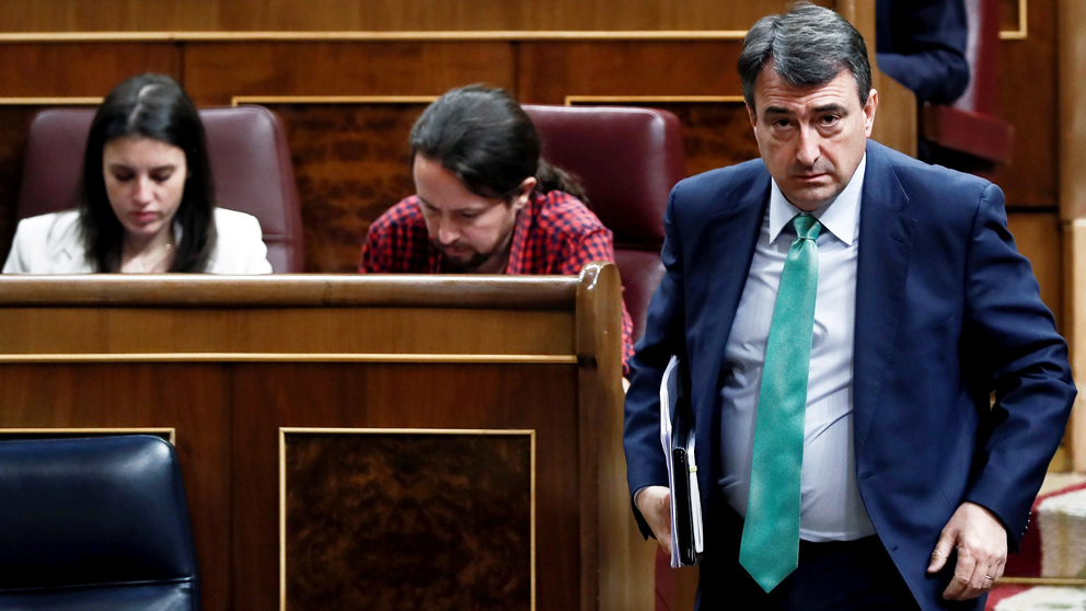 Aitor Esteban, portavoz del PNV en el Congreso. (Foto: EFE) | Presupuestos 2018
