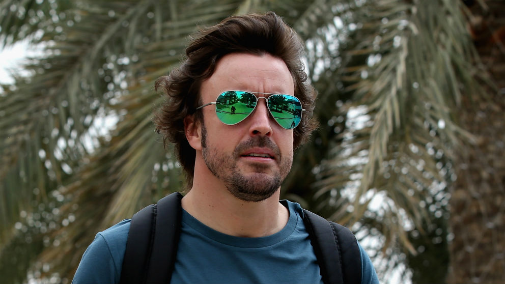Fernando Alonso se ha mostrado optimista de cara al Gran Premio de Azerbaiyán de Fórmula 1, a pesar de ser la de Bakú una de las pistas que peor se adaptan al McLaren MCL33. (Getty)