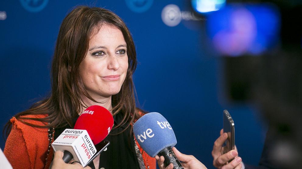Andrea Levy, vicesecretaria de Estudios y Programas del PP. (Foto: PP)
