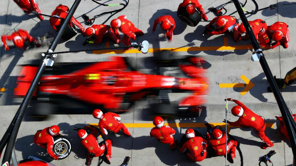 Ferrari ha dejado a un lado el trabajo en los circuitos.