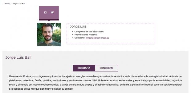 Un diputado de Podemos se inventa que es ingeniero químico pero nunca acabó la carrera