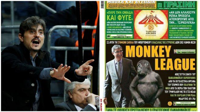 El dueño de Panathinaikos amenaza con retirarse y ataca a la Euroliga: «Liga de monos»