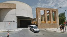 Fachada de la comisaría provincial de Málaga.