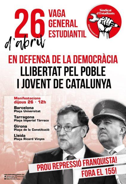 El separatismo levanta barricadas en las universidades de Barcelona para protestar por el 155