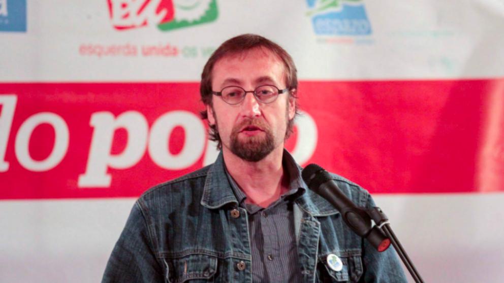 Xoán Hermida, diputado de En Marea