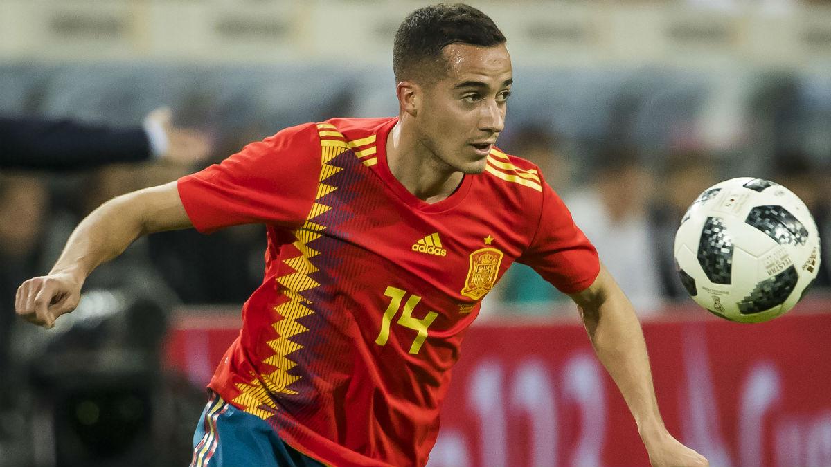 Lucas Vázquez se ha ganado con sus actuaciones en el Real Madrid, su presencia en el Mundial de Rusia (AFP).