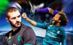 Marcelo humilla a Benzema en la Champions