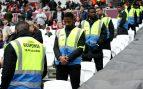La vacilada de un espontáneo a los stewards de la UEFA