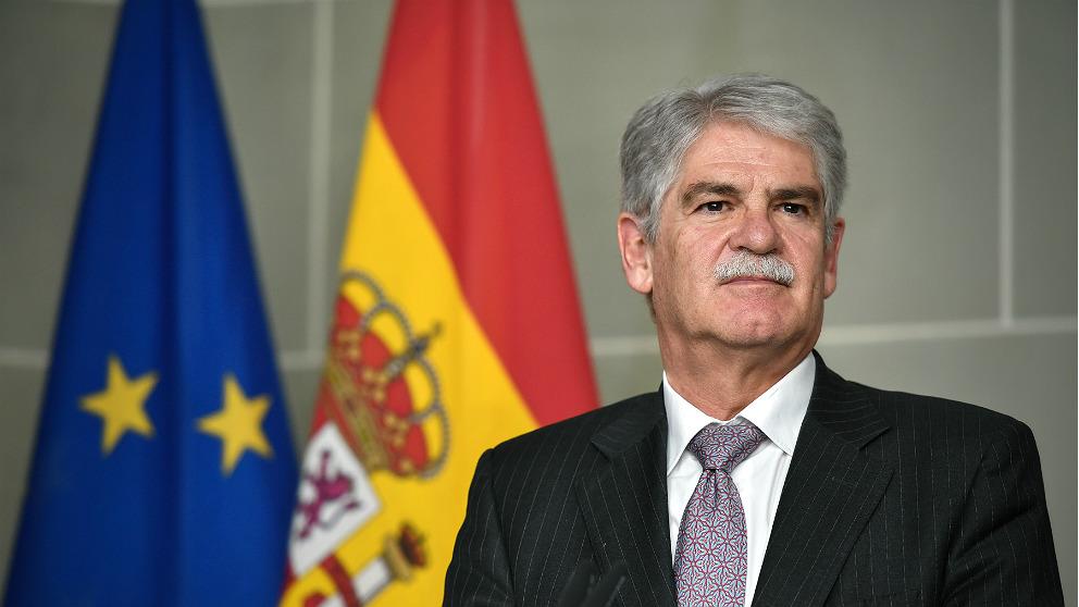 Alfonso Dastis, ex ministro de Asuntos Exteriores. (AFP)