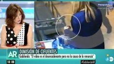 Ana Rosa Quintana en su programa este viernes. | Última hora Cristina Cifuentes