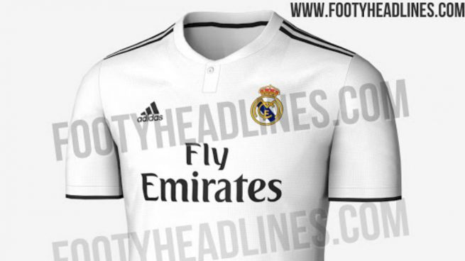 d3173b40e1627 Así será la nueva camiseta del Real Madrid para la temporada 2018-2019