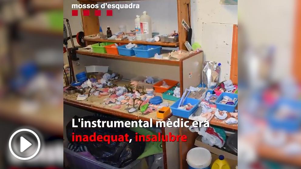 Consulta del falso dentista