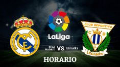 Real Madrid – Leganés | Liga Santander | Fútbol hoy