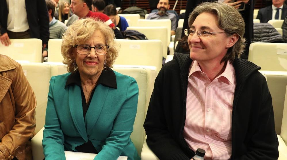 Manuela Carmena y Marta Higueras. (Foto. Madrid)