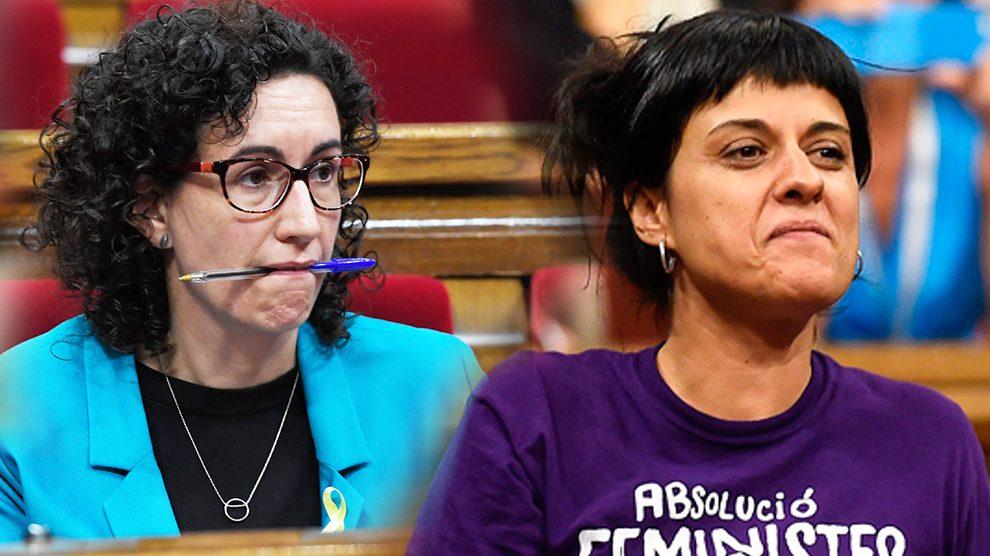 Marta Rovira y Anna Gabriel   Última hora Cataluña