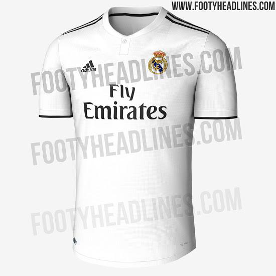 Así será la nueva camiseta del Real Madrid para la temporada 2018-2019 fa00b8ba74800