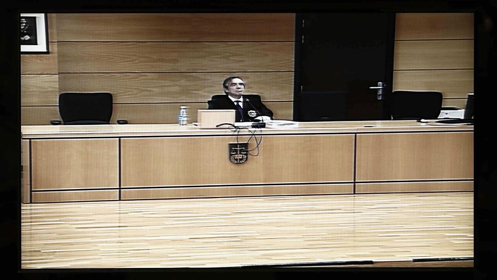 Lectura de la sentencia de 'La Manada'. (Foto: EFE)