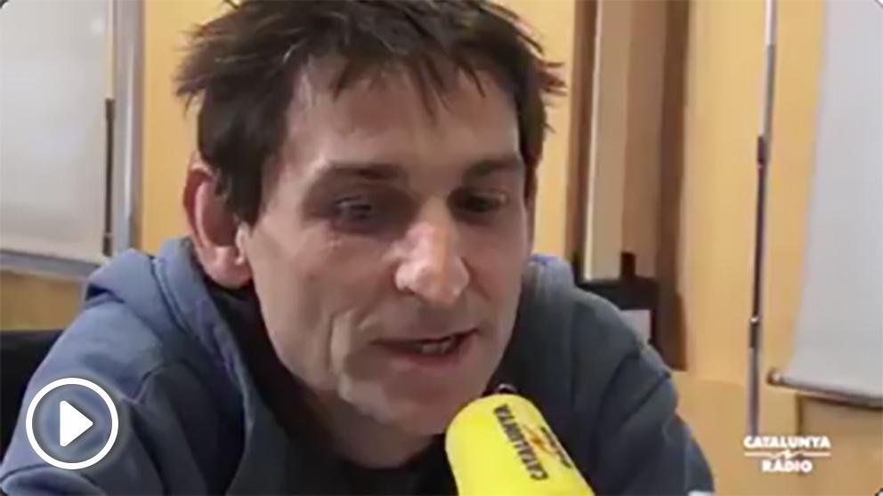 El cantautor Albert Pla, en Catalunya Radio.
