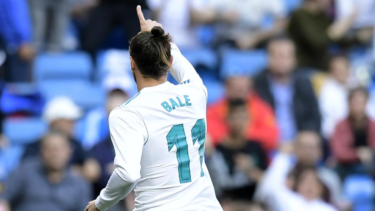 Bale marcó el primer gol del Real Madrid ante el Leganés. (AFP)