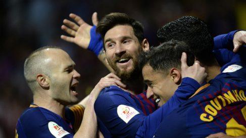 El FC Barcelona será campeón de Liga si consigue empatar en Riazor (AFP).