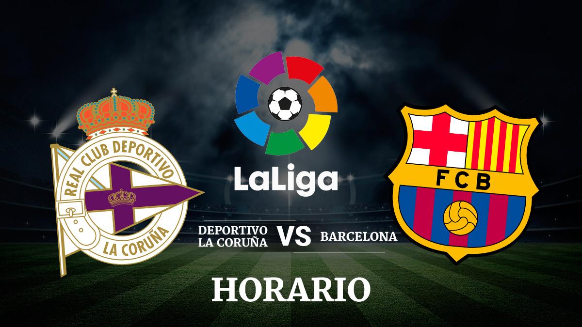El Deportivo recibirá al Barcelona en Riazor jugándose la vida.