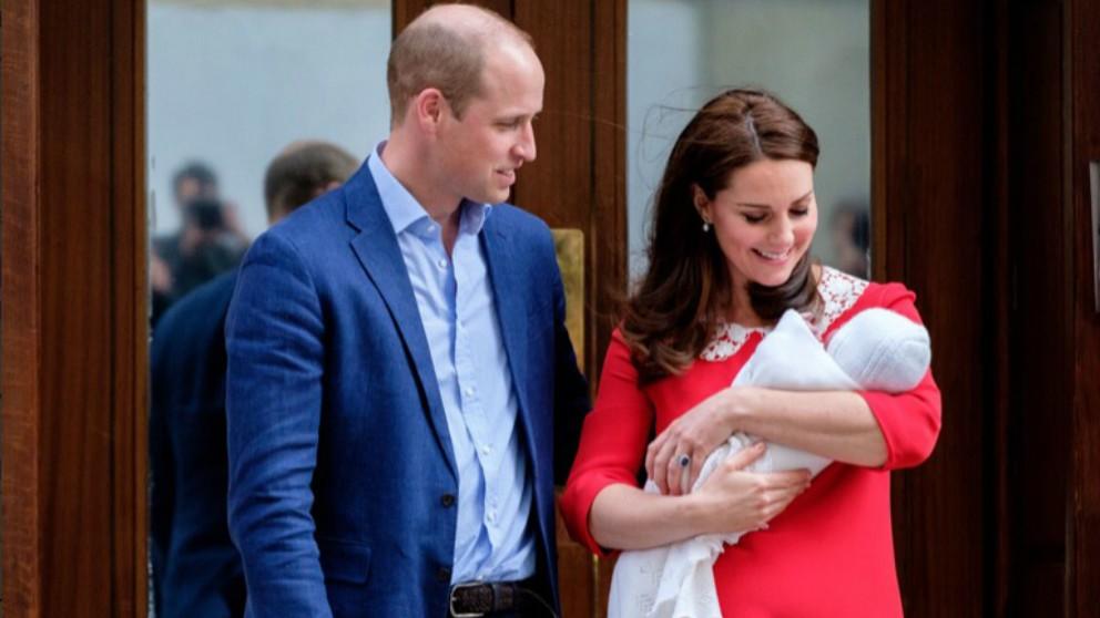 Los Duques de Cambridge dan a conocer el nombre de su hijo