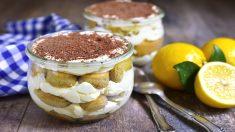 Receta de Tiramisú de limón fácil de preparar paso a paso