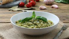 Receta de risotto de espinacas una cena de lujo y muy sana