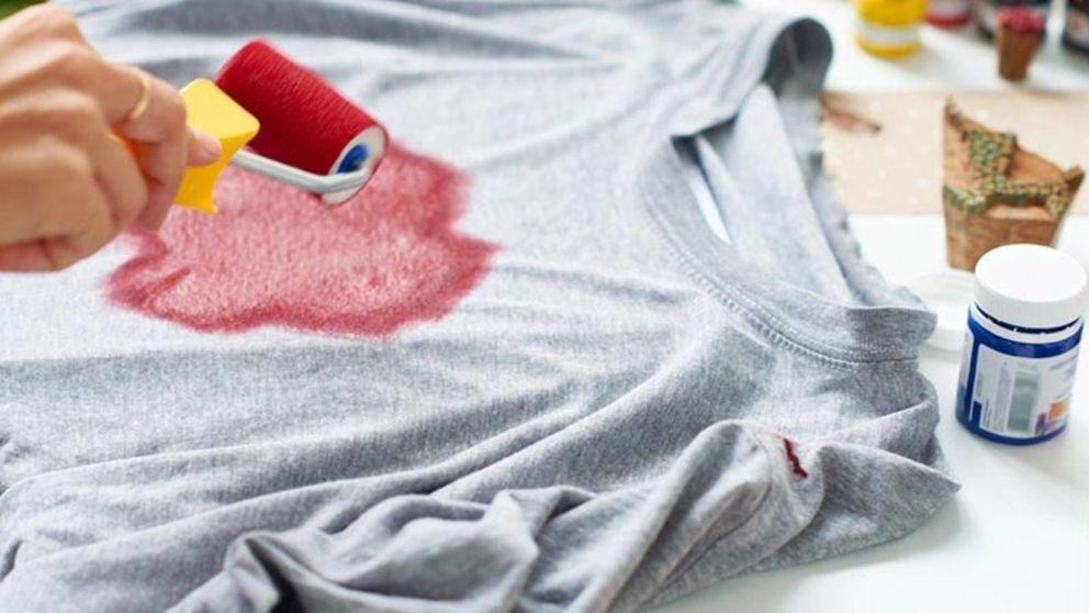Aprende cómo hacer camisetas pintadas a mano paso a paso