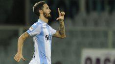 Luis-Alberto-Romero,-del-Lazio,-podría-ser-la-apuesta-del-Barça-para-sustituir-a-Iniesta-(Getty)