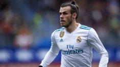 Bale durante un partido con el Madrid (Getty)