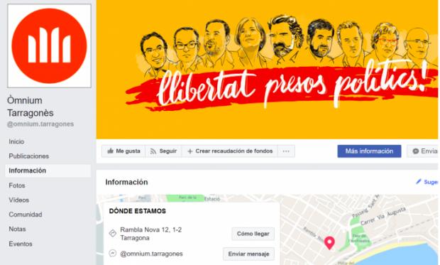 Educadores y golpistas de la mano en Cataluña: el Colegio de Pedagogos y Òmnium comparten sede