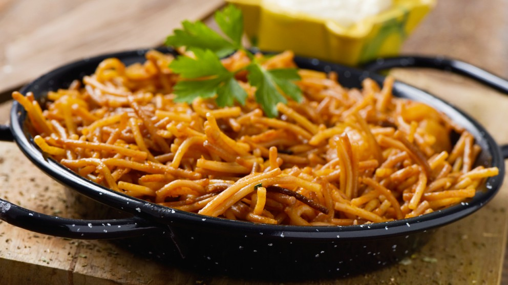 Receta de Fideos con calamares fáciles de preparar