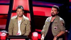 Antonio Orozco y Pablo López deciden hoy en 'La Voz Kids 4'. (Foto: Telecinco)