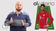La alineación del Bayern de Múnich ofrece pocas novedades respecto a la ida.