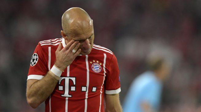 Robben y Ribery dejarán Bayern al finalizar temporada