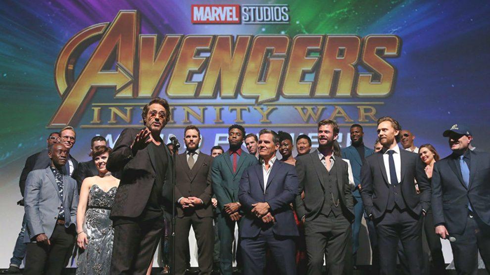 Elenco de actores de Vengadores Infinity War (Foto: Imdb).