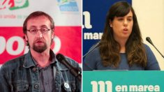 Xoán Hermida y Paula Quinteiro, portagonistas de la guerra entre Podemos Galicia y En Marea.