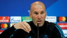 Zidane en rueda de prensa. (EFE)