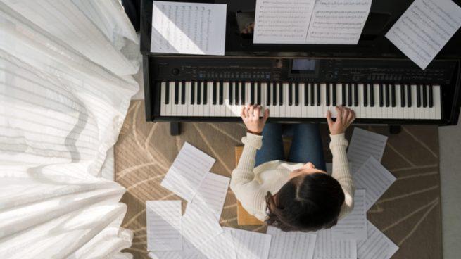 Leer partituras de piano