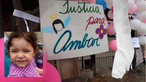 Ámbar, la niña de 20 meses violada y asesinada en Chile.