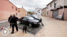 Establecimiento hostelero en la calle San Bruno de la capital burgalesa donde una mujer de 34 años falleció tras ser agredida por su ex pareja (EFE).