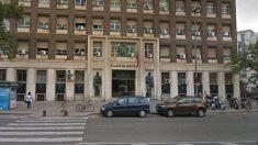 Fachada de la Audiencia Provincial de Murcia, donde se celebró el juicio.