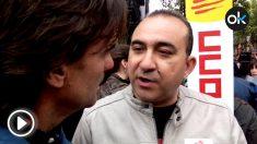 Javier PAcheco, líder de CCOO Cataluña