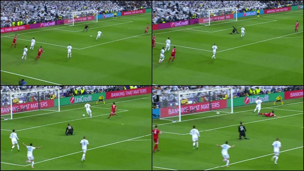 Ulreich regaló el segundo gol a Benzema.   Real Madrid – Bayern   Champions League