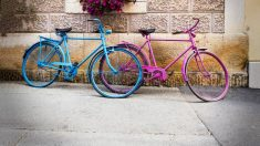Aprende cómo pintar una bicicleta de manera fácil