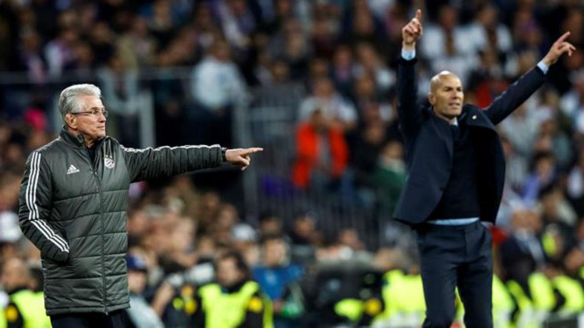 Jupp Heynckes y Zinedine Zidane protagonizaron una preciosa batalla táctica (EFE).