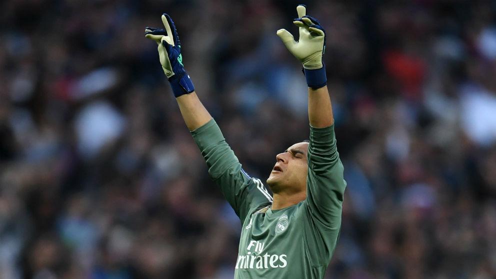 Keylor Navas fue fundamental en el pase del Real Madrid a la final de Champions. (AFP)