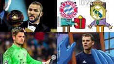 Los mejores memes del Real Madrid – Bayern.